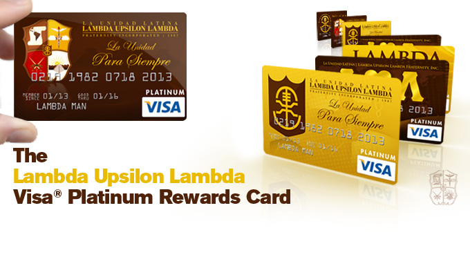 Lambda Visa Card - Featured Content