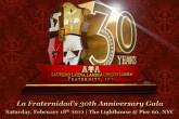 2012 30th Anniversary Gala