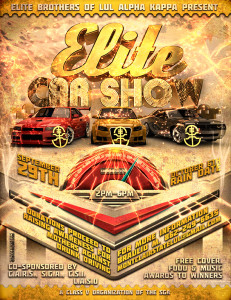 Elite Car Show @ Montclair State University's Lot 23