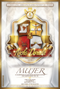 Yale University/Kappa Chapter Noche Dorada—Mujer: A Celebration of our Latina Mothers and Sisters @ Ballroom at LoRicco Tower | New Haven | Connecticut | United States
