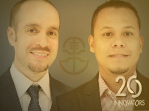 Hermanos Anthony Aldaño (SPR '94) and Jesus Díaz Jr. (FA '96), founders of Greekster.tv