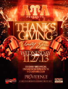 LUL Presents - Thanksgiving Unity Jam @ Providence Night Club | New York | New York | United States