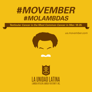 Testicular Cancer - Movember