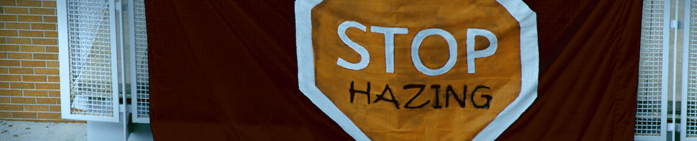 Anti-Hazing Policy - page header